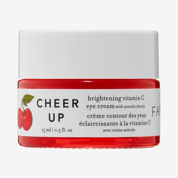 FARMACY Cheer Up Brightening Vitamin C Eye Cream with Acerola Cherry