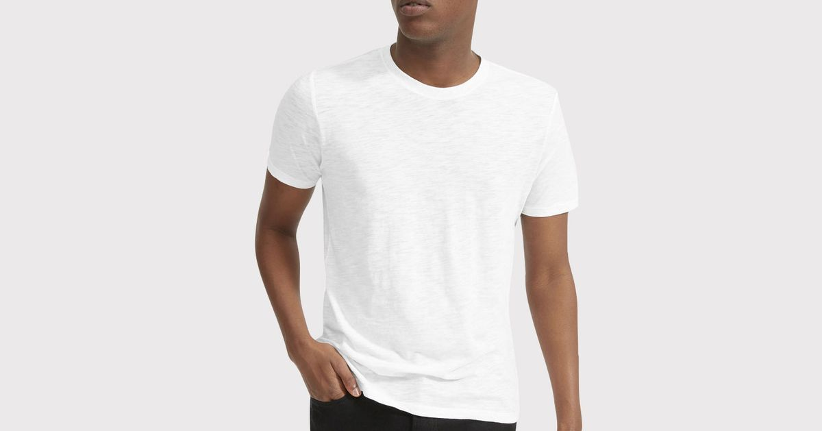 The Best Men's White T-shirts, According to Stylish Men