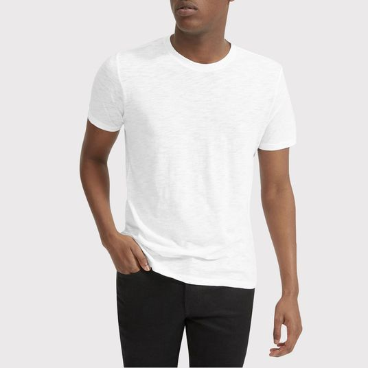 ec1bea14 The Best Men's White T-shirts, According to Stylish Men