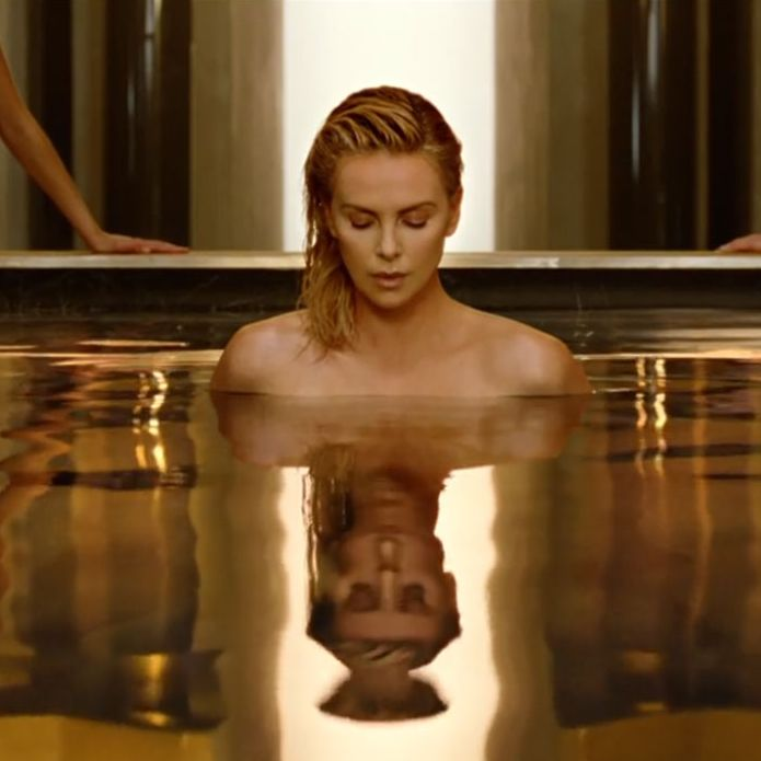 Dior Perfume Ad Features Charlize Theron