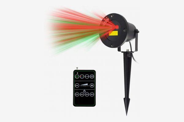 Starry 2 Color Motion Laser Light Star Projector