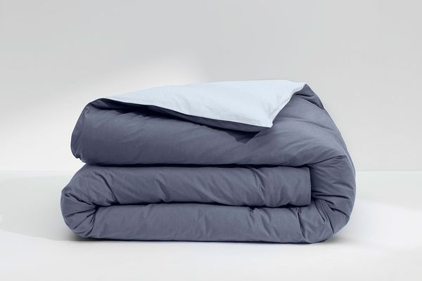 Casper Cool Supima Duvet Cover in Azure
