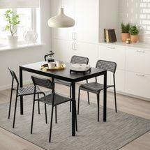 Ikea Tarendo / Adde Table and 4 Chairs