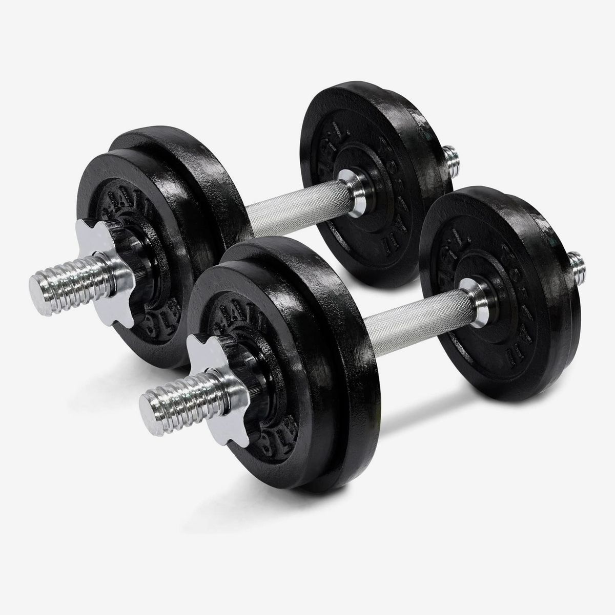 """1/"""" Dumbbell Bar for Adjustable Weighted Plates BAR ONLY"""