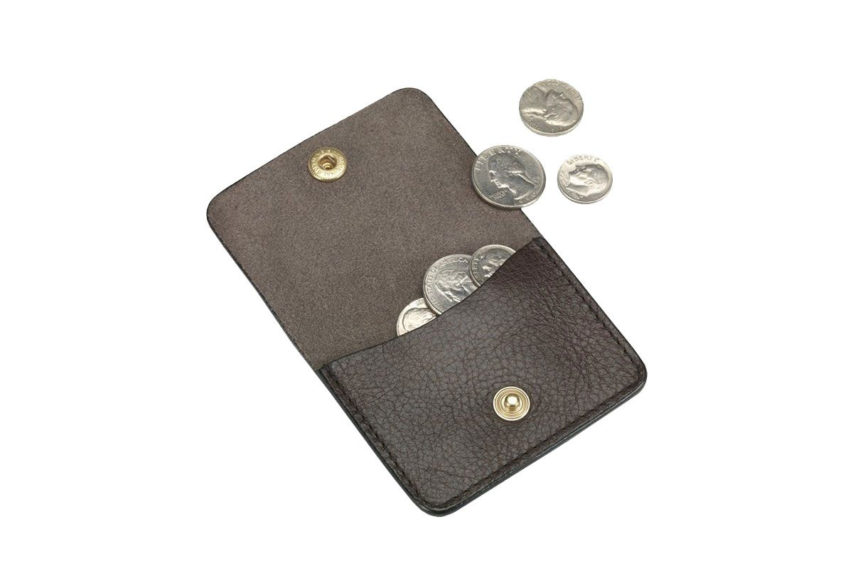 Lotuff Leather Coin Wallet