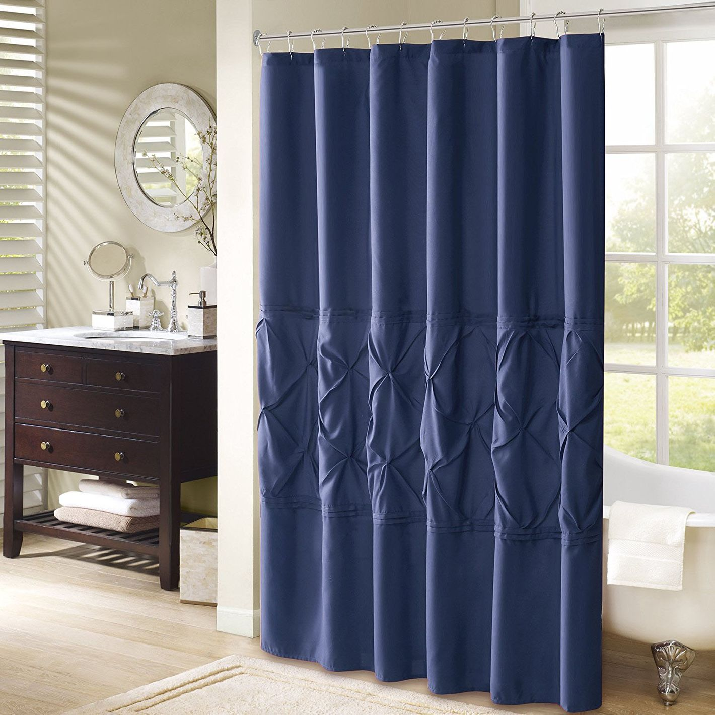 Comfort Spaces Cavoy Shower Curtain