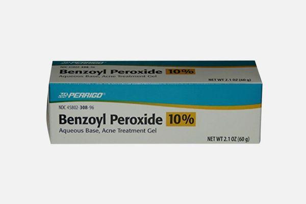 Perrigo 10% Benzoyl Peroxide Acne Treatment Gel
