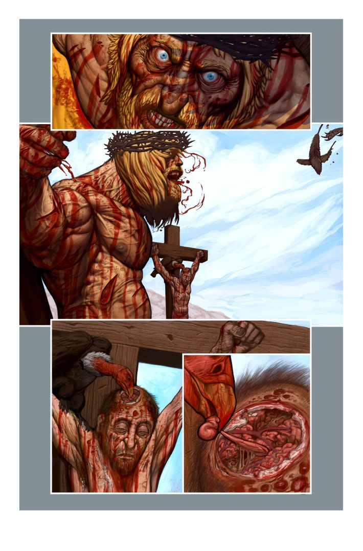 Grant Morrison Unveils His JesusConan Mashup Comic