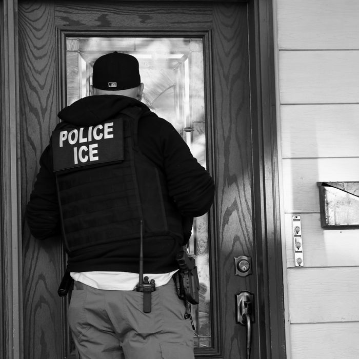 ICE Officer.