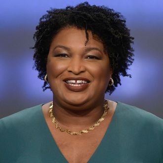 Stacey Abrams.