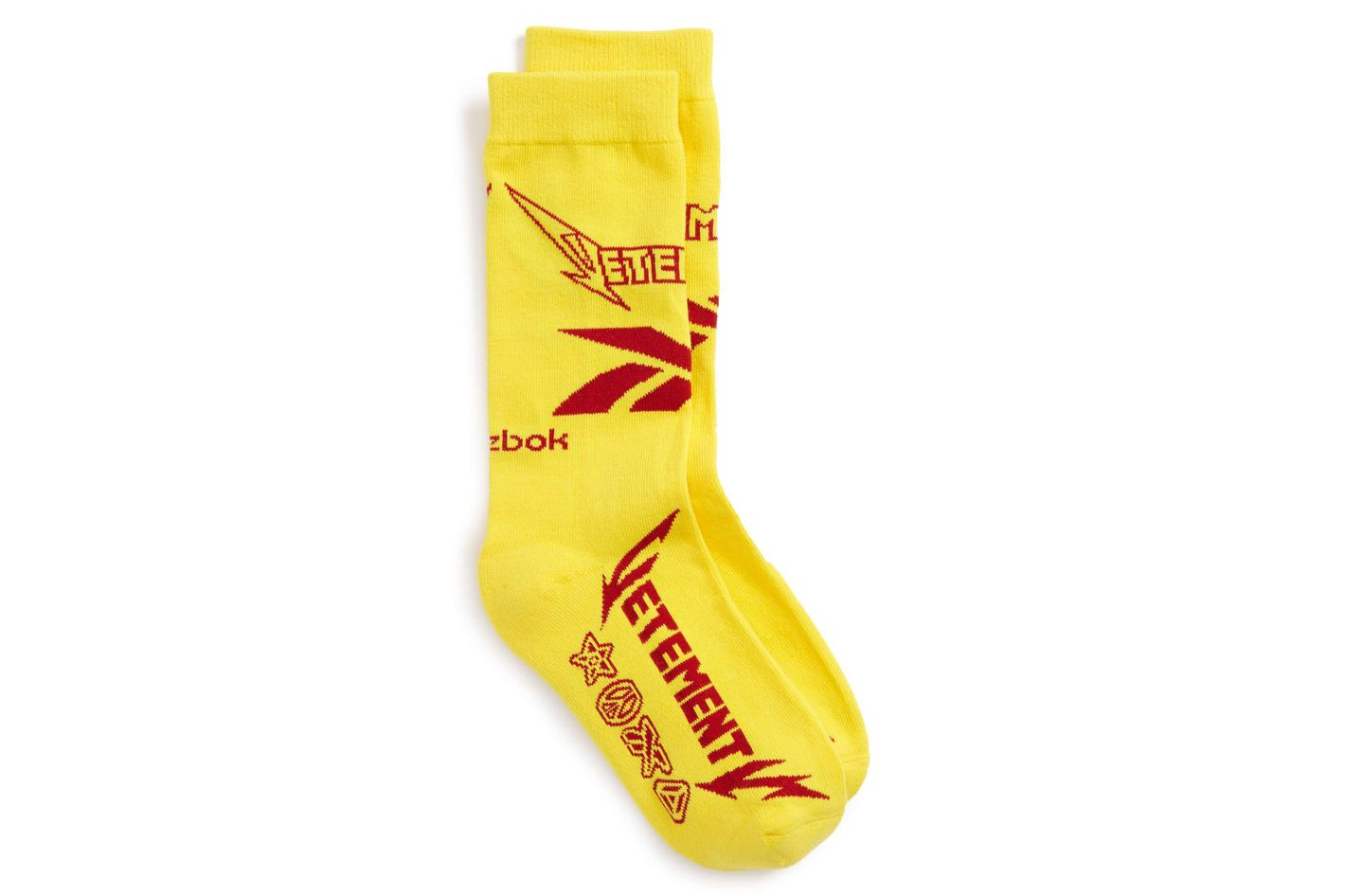 Vetements Metal Crew Socks