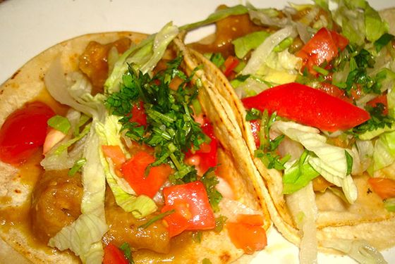 <b>What to Order: </b>Tacos de chicharron.  <i>24 Charles St., Waltham; 781-647-0166</i>                    Taqueria Mexico is another Waltham gem. It's a bit bigger than Taqueria el Amigo (with slower service, admittedly), but their chewy pork-rind (<i>chicharron</i>) tacos drenched in tangy green sauce are worth the wait. The rich, meaty treats come three to an order.