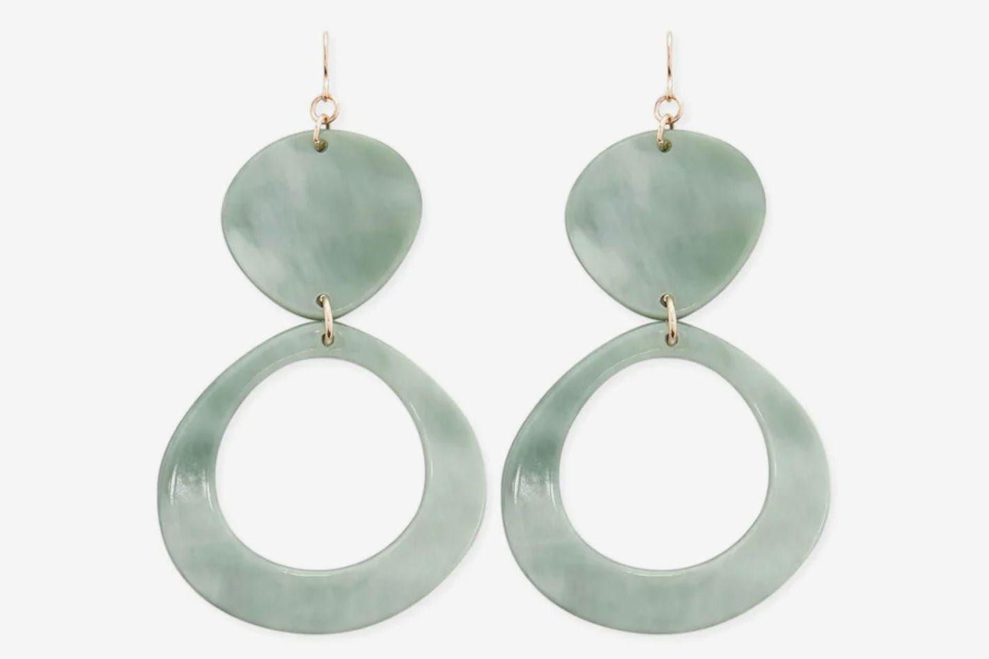 Forever 21 Marble Drop Earrings