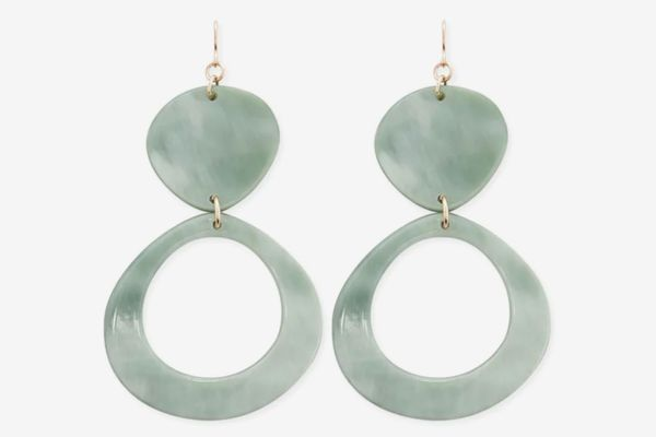 Forever 21 Marble Drop Earrings
