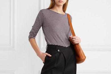 Isabel Marant Étoile Kaaron striped linen and cotton-blend top