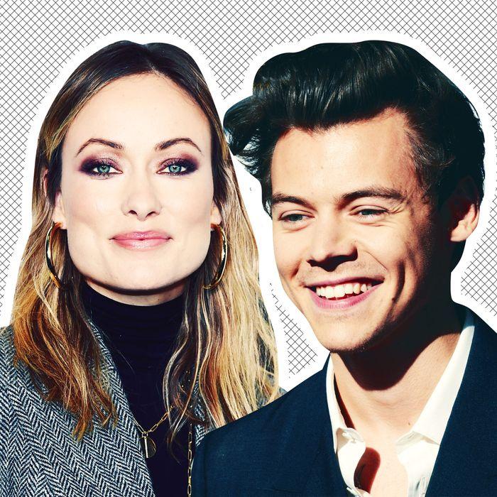 Harry Styles & Olivia Wilde Are Dating, Per Wedding Photos
