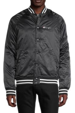 Champion Snap-Front Bomber Jacket