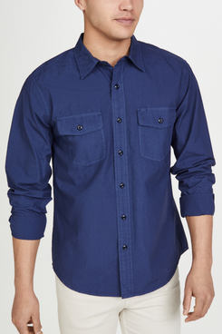Alex Mill Garment-Dyed Field Button-Down Shirt