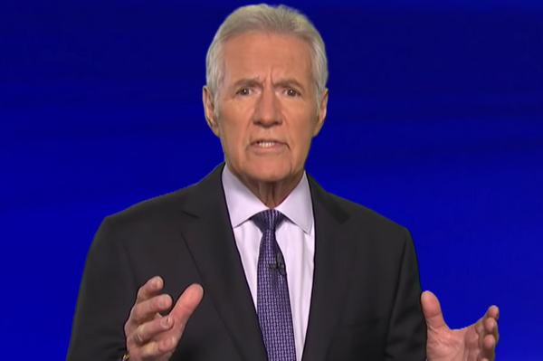 I'll Take 'Your Health Update Video Is Making Me Weep' for $800, Alex Trebek