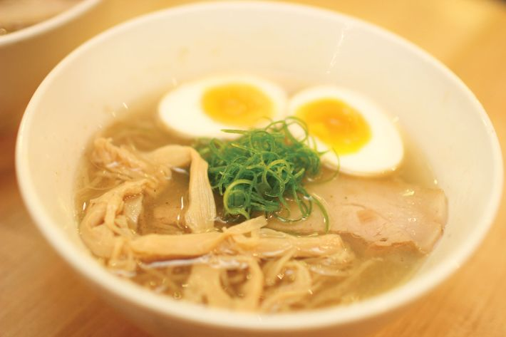 Ivan Orkin's classic shio ramen, made with rye-flour noodles.