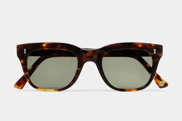 Cubitts Rufford D-Frame Tortoiseshell Acetate Sunglasses