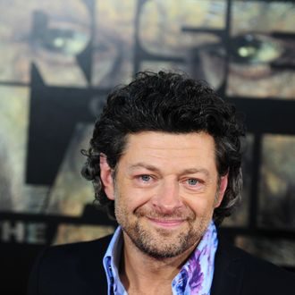 Actor Andy Serkis arrives at the Los Angeles premiere of