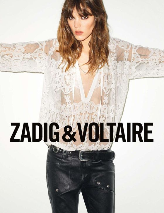 <b>Model: </b>Freja Beha  <b>Photographer: </b>Terry Richardson