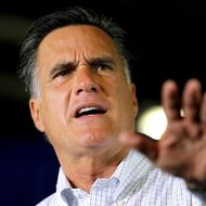 JANESVILLE, WI - JUNE 18:  Republican presidential candidate, former Massachusetts Gov. Mitt Romney speaks during a campaign event at Monterey Mills on June 18, 2012 in Janesville, Wisconsin.  Mr. Romney continues hs campaign swing through battle ground states as he battles President Barack Obama for votes.  (Photo by Joe Raedle/Getty Images)