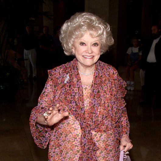 Phyllis Diller received a 'Lucy' at Women in Film's 7th Annual Lucy Awards for Innovation in Television at the Beverly Hilton in Beverly Hills, Ca. 9/8/00.