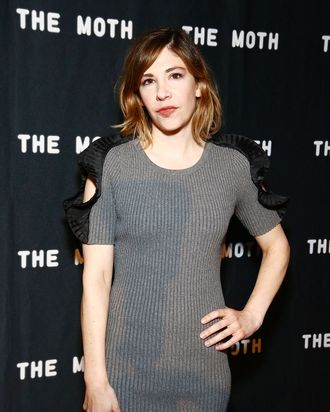 Carrie Brownstein at The 2016 Glam Rock Moth Ball on May 10, 2016 in New York.