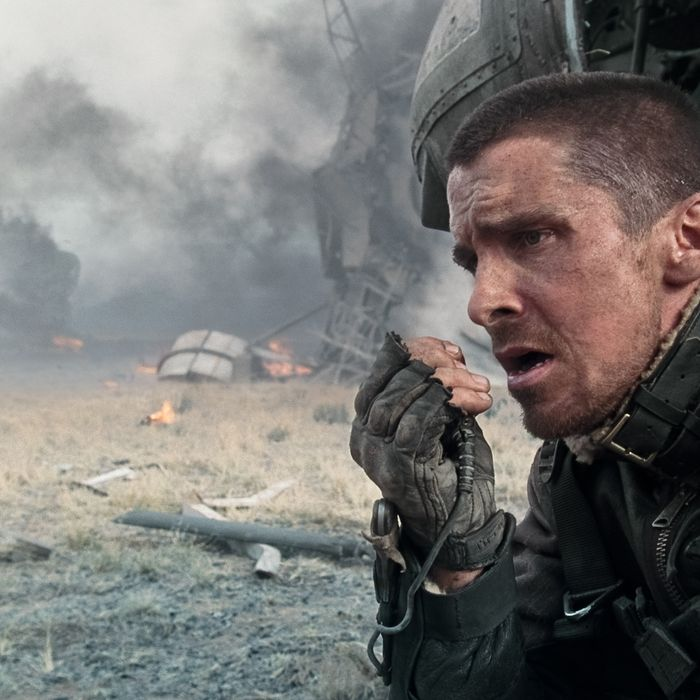 "CHRISTIAN BALE stars as John Connor in Warner Bros. Pictures' action/sci-fi feature ""Terminator Salvation."""