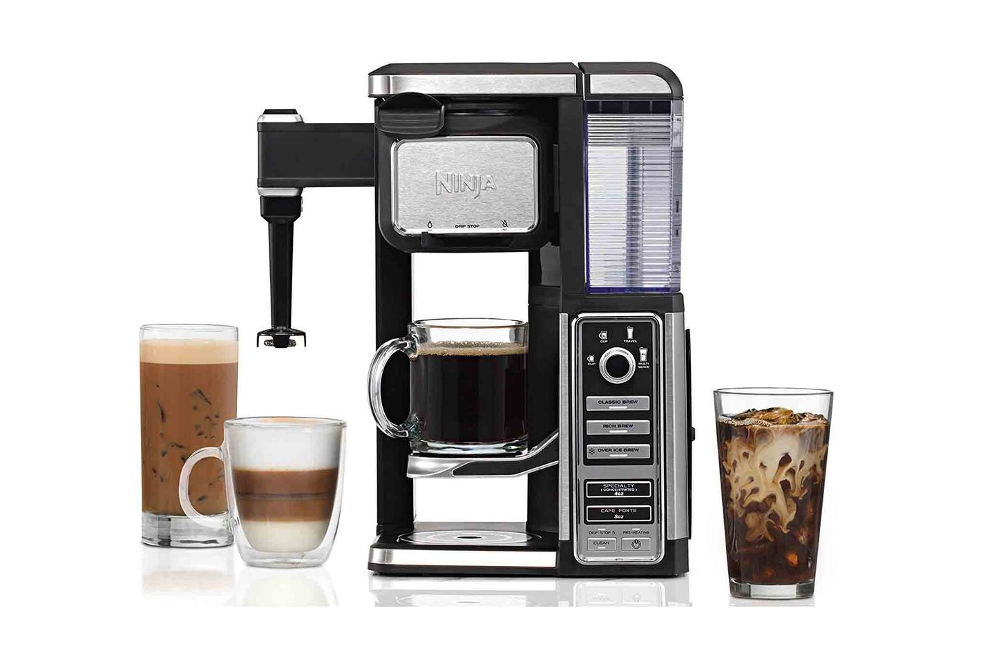 Ninja Coffee Bar Single-Serve System With Built-in Frother