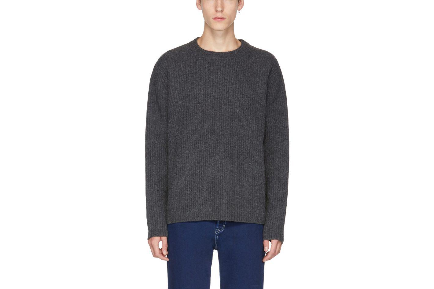 Acne Studios Grey Nicholas Sweater