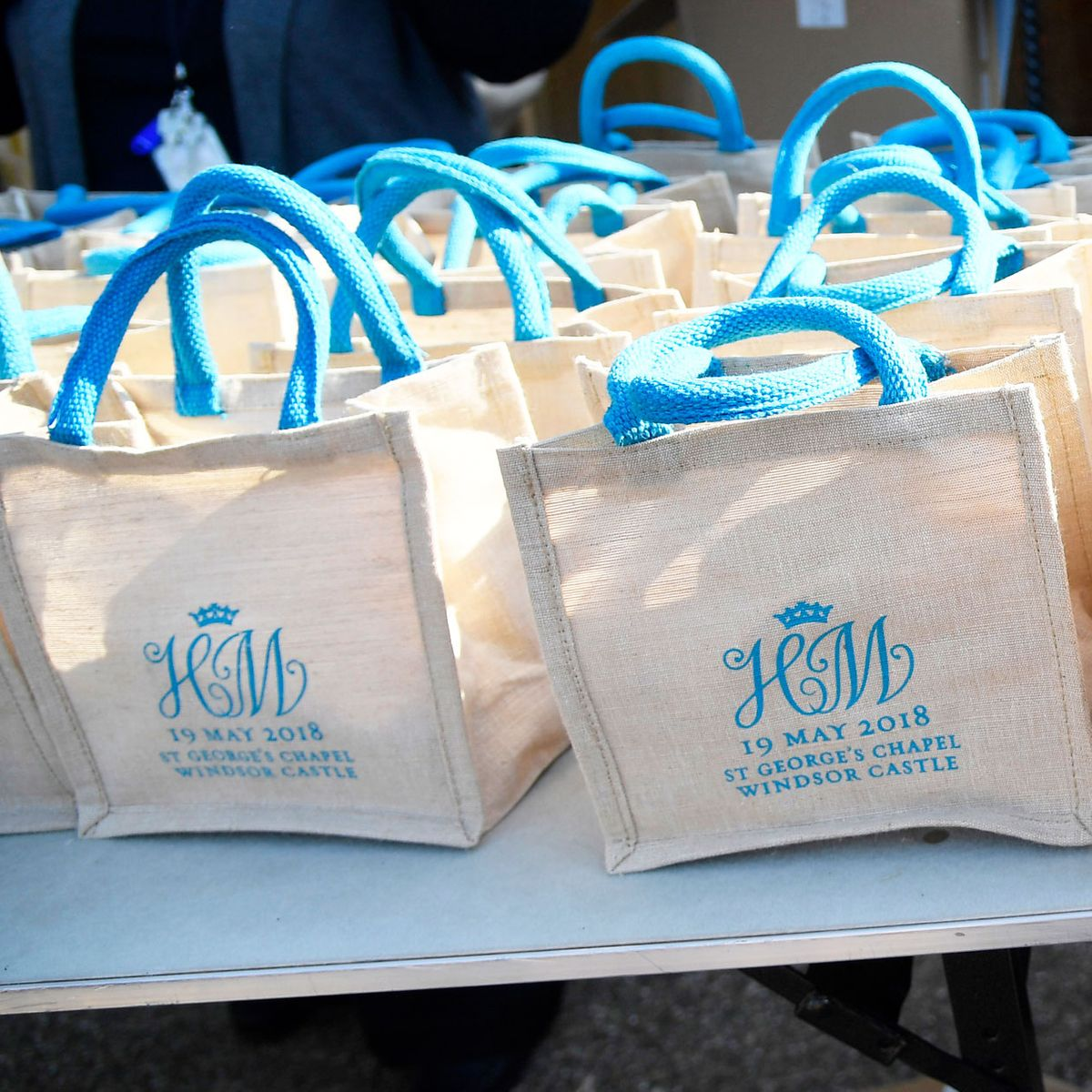 Royal Wedding Guests Their Gift Bags On Ebay