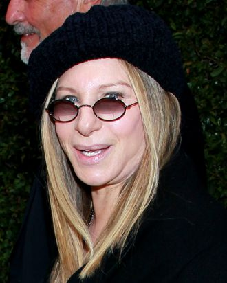 Actress Barbra Streisand attends Chanel's benefit dinner for the Natural Resources Defense Council's Ocean Initiative