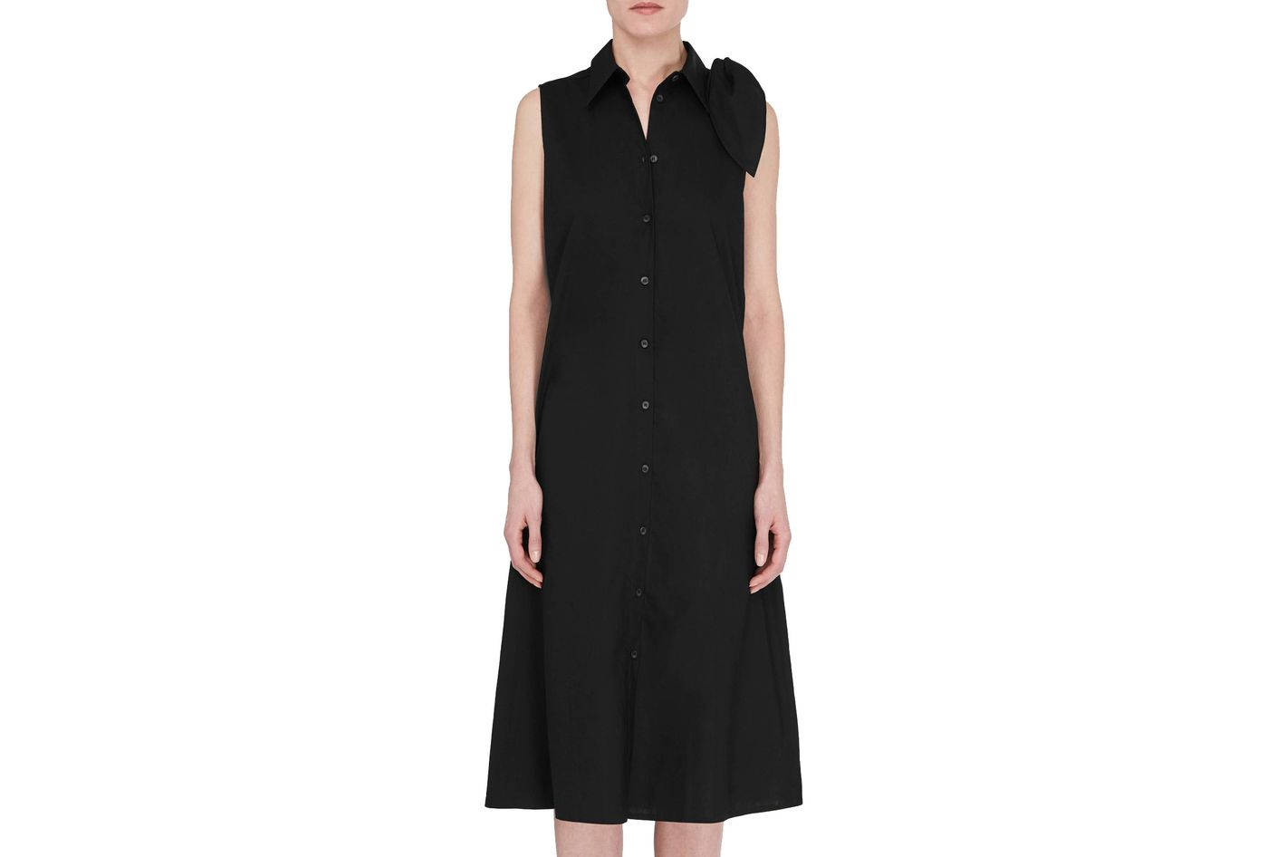 MM6 Maison Margiela Shoulder Tie Dress