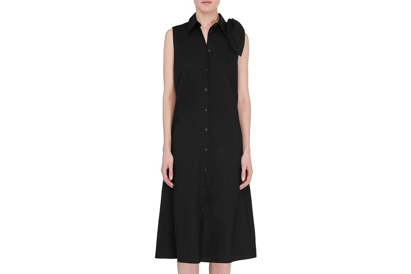 MM6 Maison Margiela Shoulder Tie Dress