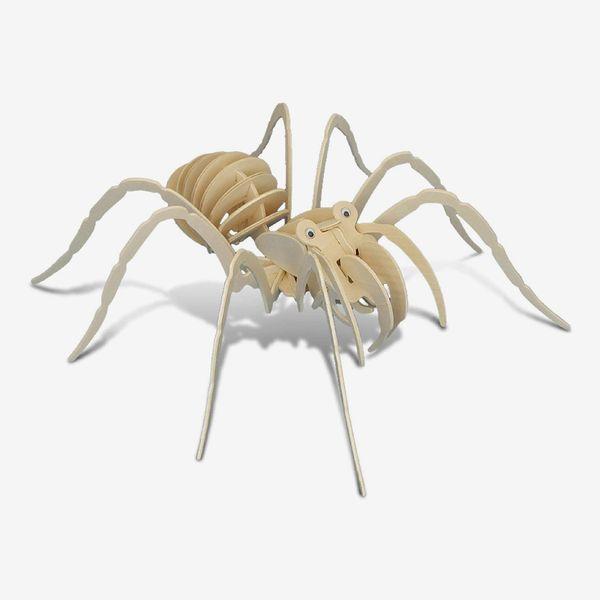 Puzzled 3D Puzzle Tarantula Spider Wood Craft Construction Model Kit