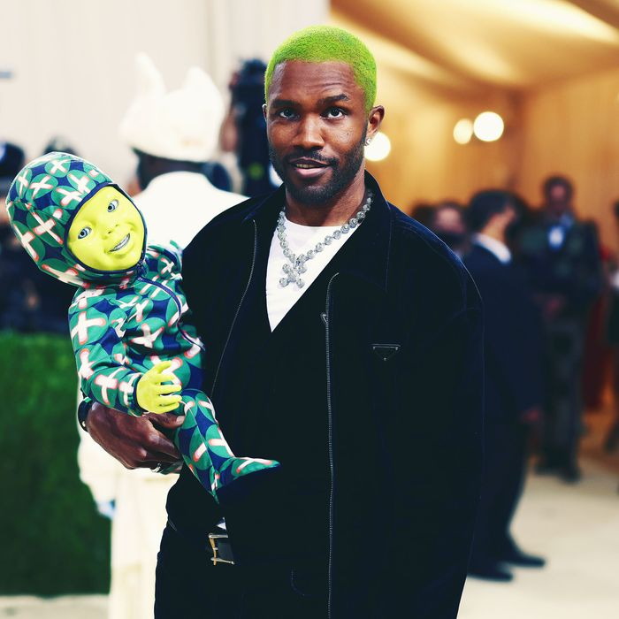 Why Did Frank Ocean Bring a Baby Robot to the Met Gala?