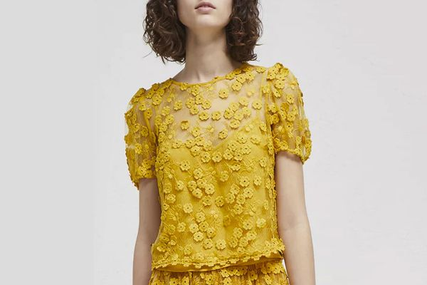French Connection Caballo Lace Top
