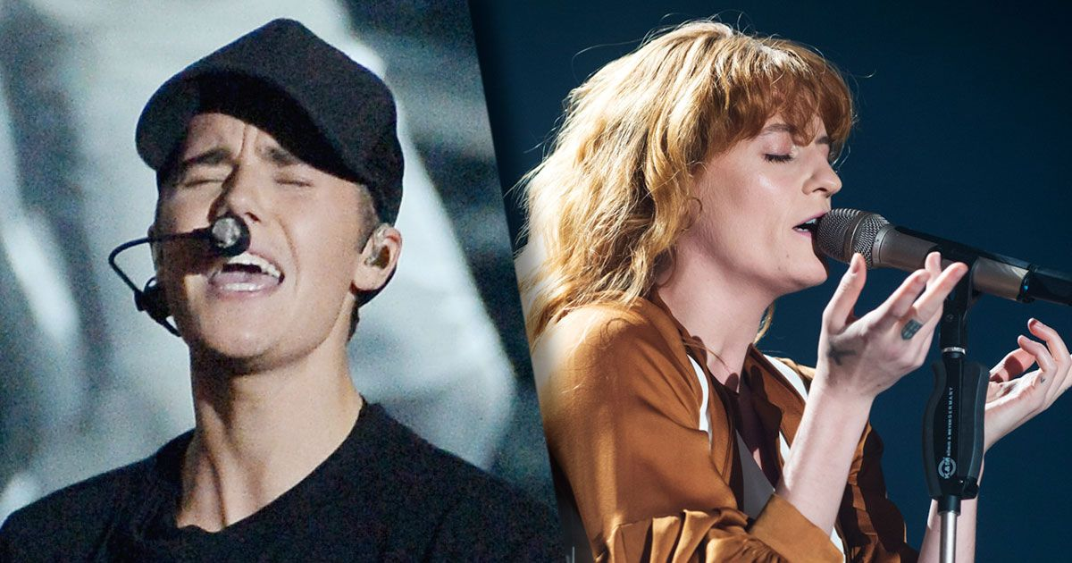 Queen Florence and Her Elegant Machine Covered Jack Ü and ...