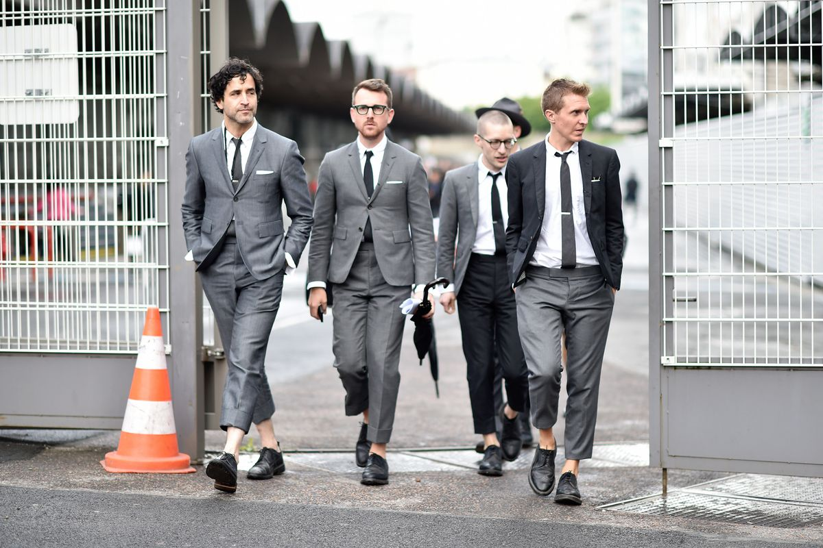 Broderick Gann And Others Street Style Paris Men S