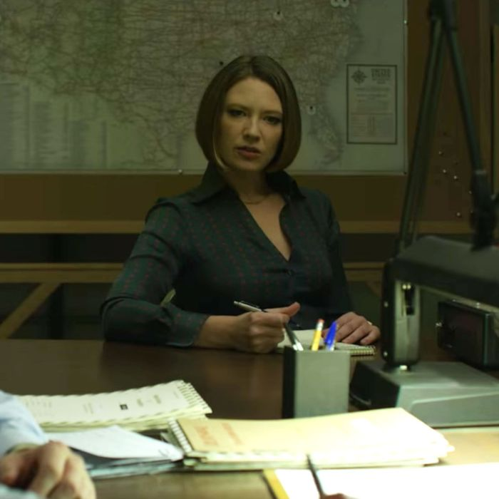 Anna Torv in Mindhunter.
