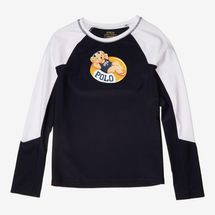 Polo Ralph Lauren Kids Pool Bear Stretch Rashguard (Little Kids/Big Kids)