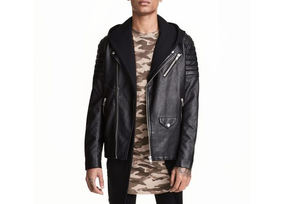 Best under-$100 leather jacket is by H&M.