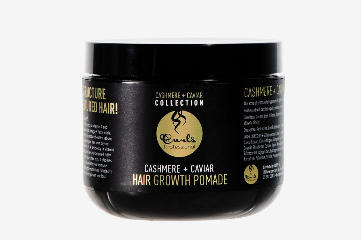Curls Cashmere + Caviar Hair Growth Pomade