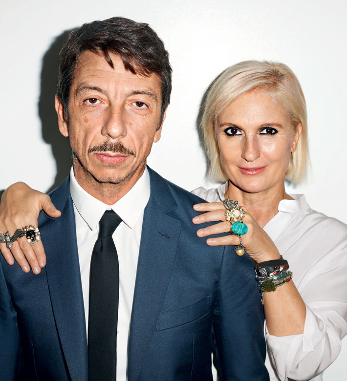 Valentino's Pierpaolo Piccioli and Maria Grazia Chiuri