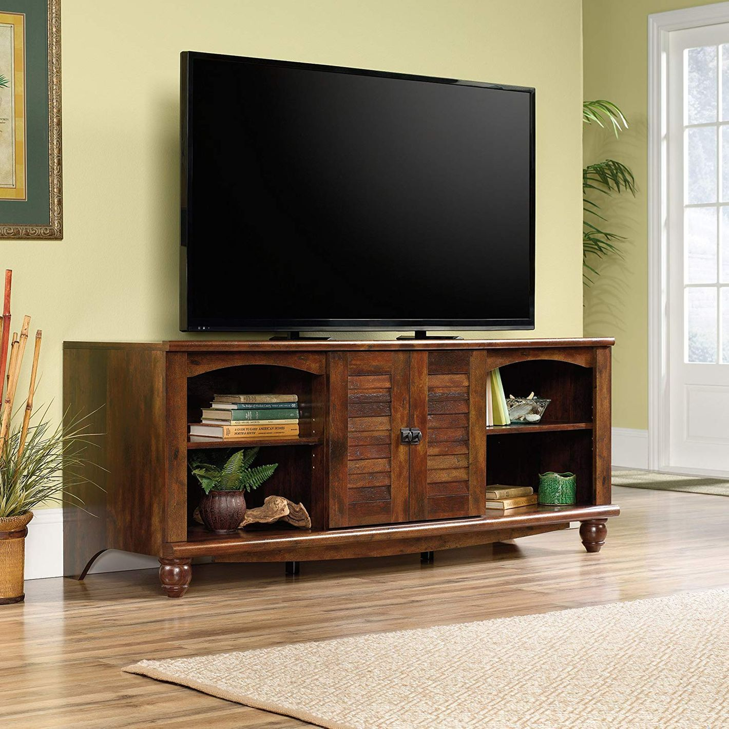 Sauder Harbor View Entertainment Credenza For TV's up to 60""