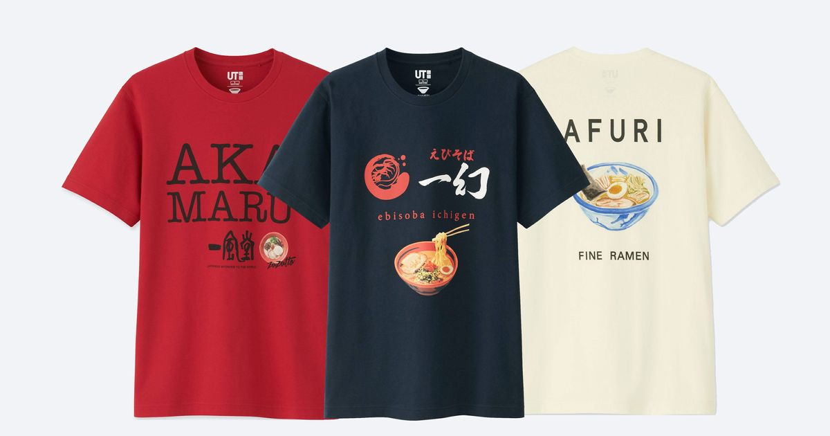 2428e7d0 Uniqlo Releases Shirts Honoring Japan's Top Ramen Shops