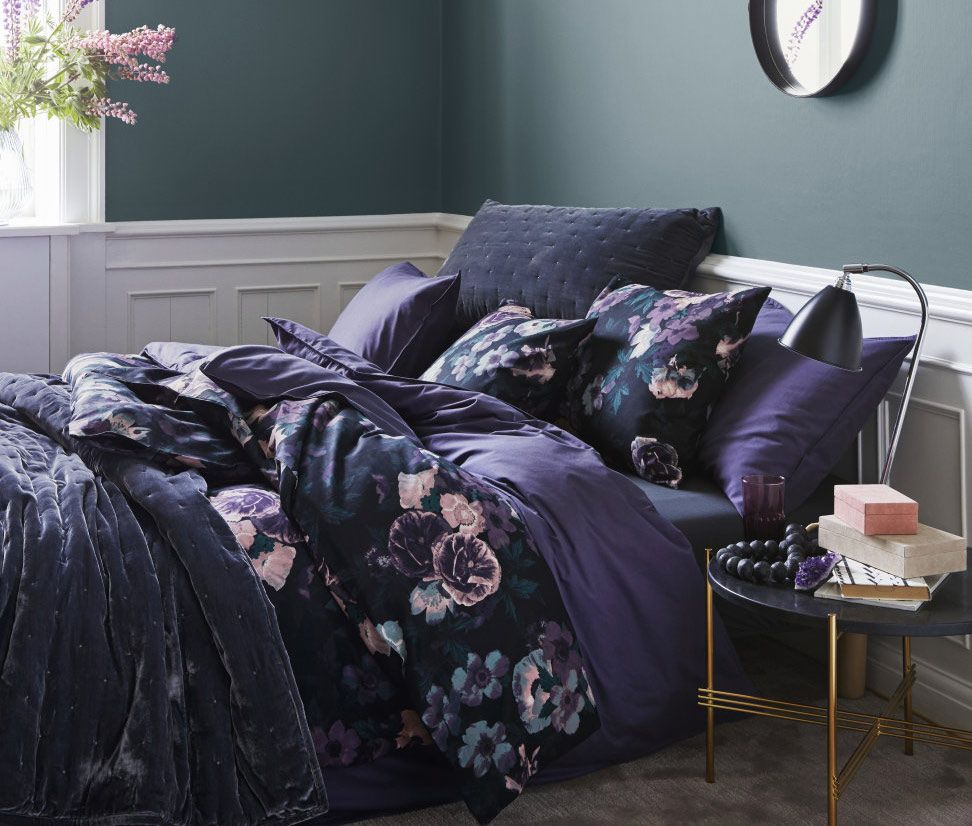 Superb The striking print works just as well for your bed as it does for your wardrobe
